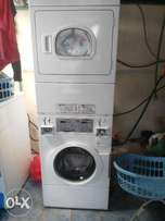 Used Coin Operated Washer and Dryer