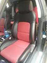 Quality Durable Car seats uphostery in Leather and affordable