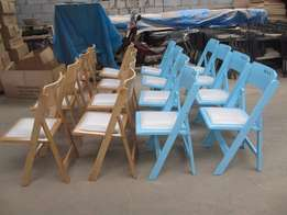 Hot Sale White Wimbledon Kiddies and Adult Chairs