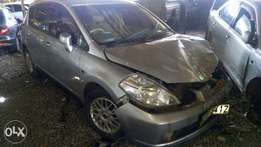NISSAN TIIDA KBX.. (salvage): Very Minimal Damage