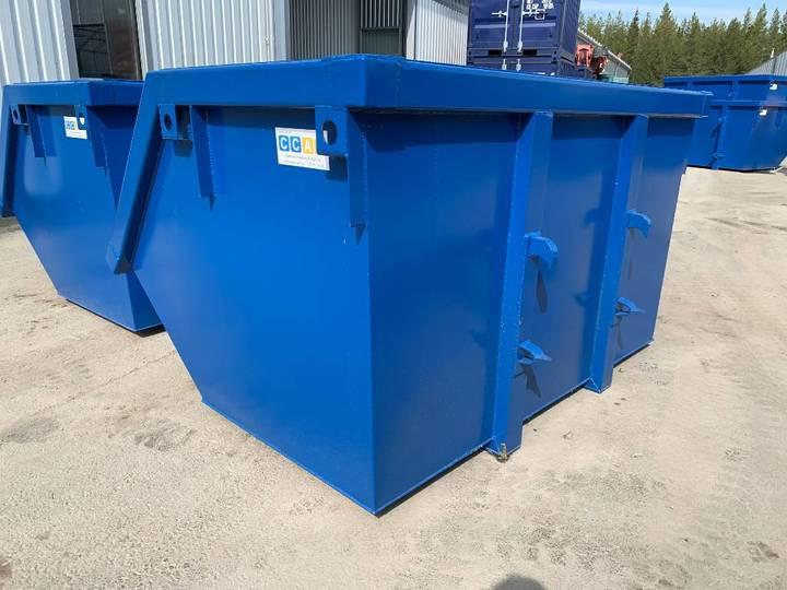 Soplåda Sopcontainer Avfallscontainer Traktorfäste - 2019