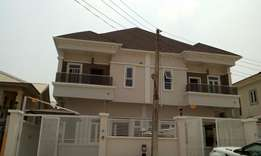 Well Finished 4 Bedroom Duplex with BQ, Ikota Villa Estate, Lekki