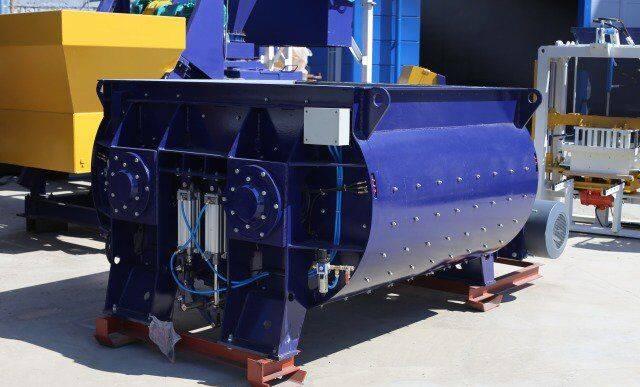 ZZBO dvuhvalnyy betonosmesitel bp-2g-2250  concrete mixer