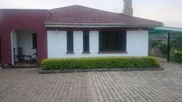 3 bedroomed all ensuit bungalow to let in kitsuru.
