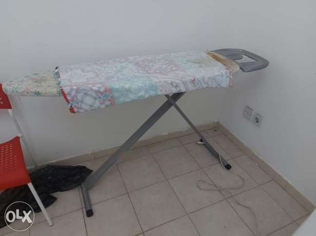 Iron stand and cloth dryer