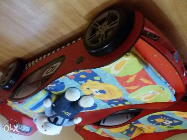 Cars bed for kids