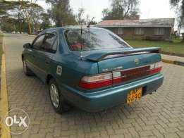 Toyota AE100 Manual 5gear speed
