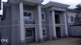 A Lovely 5bedroom semidetached duplex with bq at wuse2