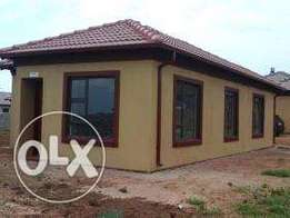New houses in soshanguve next to a mall and two new private schoo