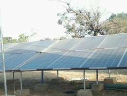 Complete solar/inverter system to power your homes, offices and farms