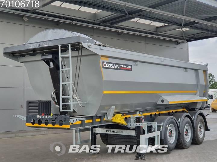 Ozsan 25m3 Stahl Kiper SAF Liftachse - 2019