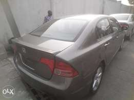 newly imported 2008,honda civic,clean leathr interior