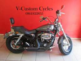 Almost Brand New Sportster with Low Mileage!