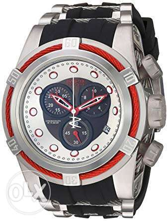 Invicta Men's 22161 'Bolt' Quartz Stainless Steel and Silicone Casual