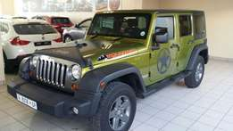 2010 Jeep wrangler 3.8 unlimited auto