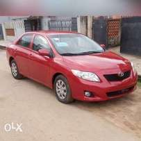 Affordable 2009 Toyota Corolla(Direct From U.S.A/Grade One Tokunbo)