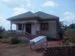 3bedroomed bangalow with boys quater for sale in NAMUGONGO at 130m ug