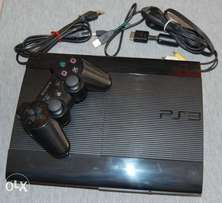 Ps3 super slim 320gb chipped 10 games free