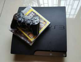 PS3 Playstation 3. Black slim 250GB. Great condition