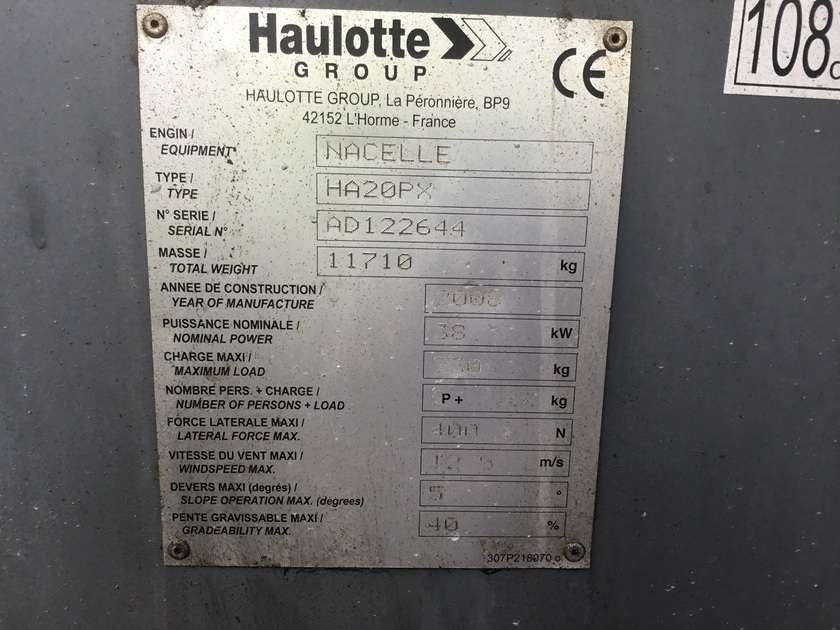 Haulotte HA20PX - 2009 - image 7