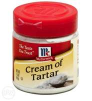 Cream of tartar*
