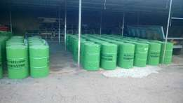 220L Oil drums (Dust bins)