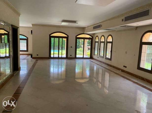 For rent Super lux finshied villa with pool in rehab مدينة الرحاب -  4
