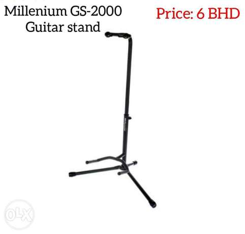 New Millennium GS-2000 guitar stand available for sale.