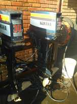 Two yamaha moters 30 hp x2 electric start