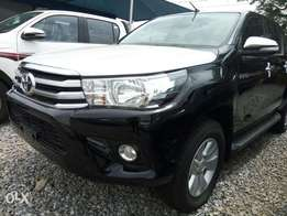 Very clean and brand new 2017 Toyota Hilux.