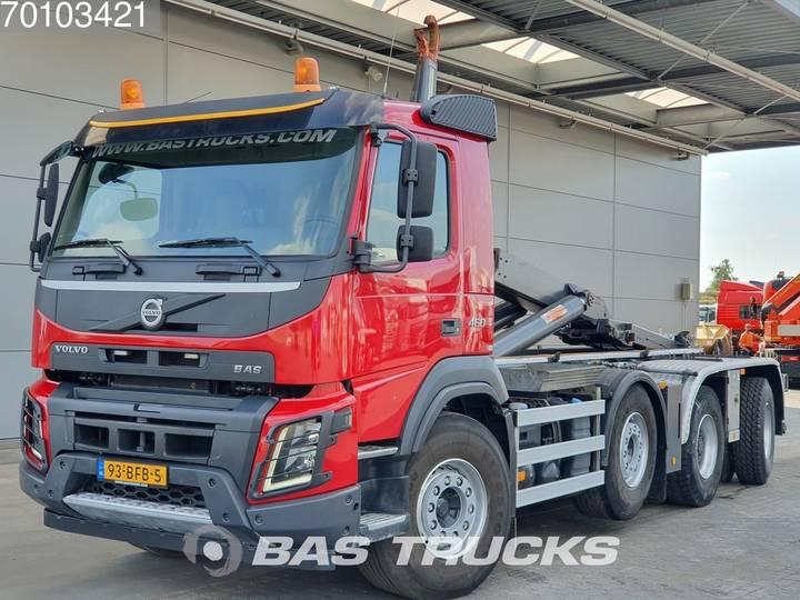 Volvo FMX 460 8X4 VEB+ Wide-spread NL-Truck Euro 6 - 2014