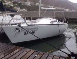 24 Foot Angelo Levranos Pea design racing Yaght