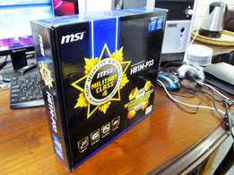 Socket 1150 MSI Motherboard H81 USB3.0 SATA 6GB/s