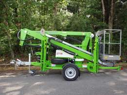 Nifty TM34T Trailer Mounted Cherry Picker