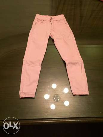 New girls pantalon size 7-8 years