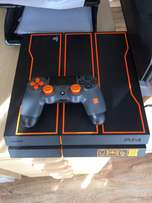 PlayStation 4 limited edition black ops 3 console