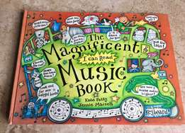 Magnificent pop-up Learn to read Music Book with keyboard!