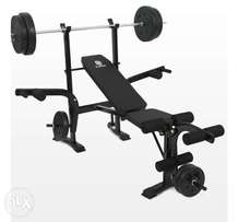 Brand new multifunctional foldable workout bench