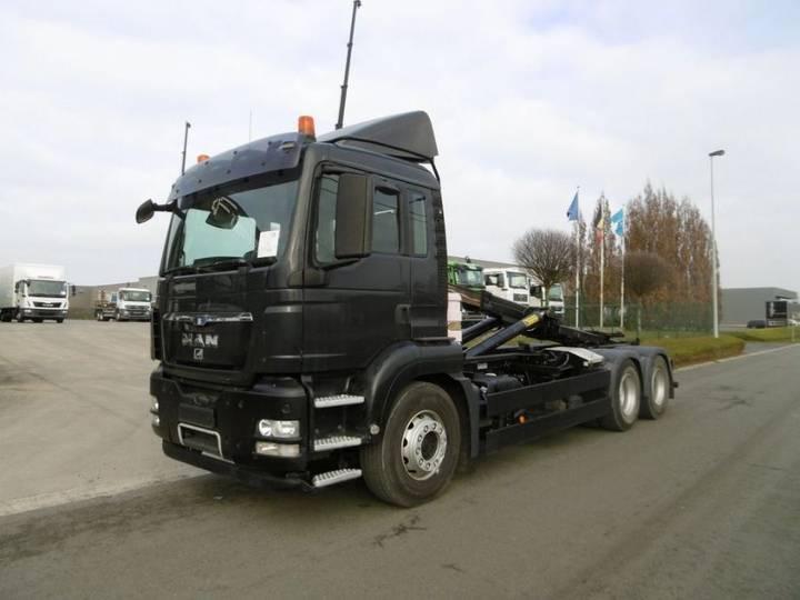 MAN 26.440 TGS - 6X4 - EURO 5 - CONTAINERWAGEN - 2010