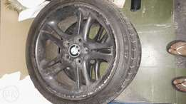 17inch BMW mag wheels for sale