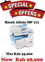 Special limited offer on Ricoh Aficio MP 171 photocopier, copier