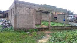 3 bedroom flat on a half plot of land under construction at Igboelerin