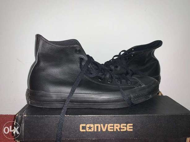 NEW CONVERSE leather Chuck Taylors (limited edition)