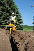 Trenching work, Trencher for hire, Raft foundation, Irrigation