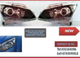 ISUZU KB 300 New Headlights Projector type for sale price :R2200-->