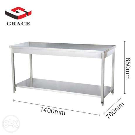 Kitchen Work Table with Undershelf stainless steel 304