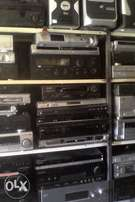 Amps, DVDs and TVs for sale