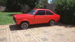 Ford Escort 1600 Sport Shell with Papers