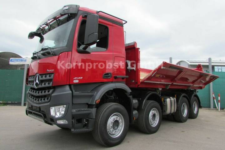 Mercedes-Benz 4142 K 8x4 BB - BORDMATIK - Nr.: 776 - 2018