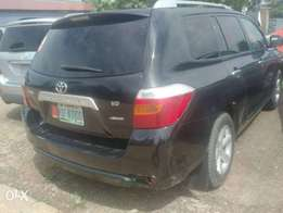Registered Toyota highlander, 2008 model.